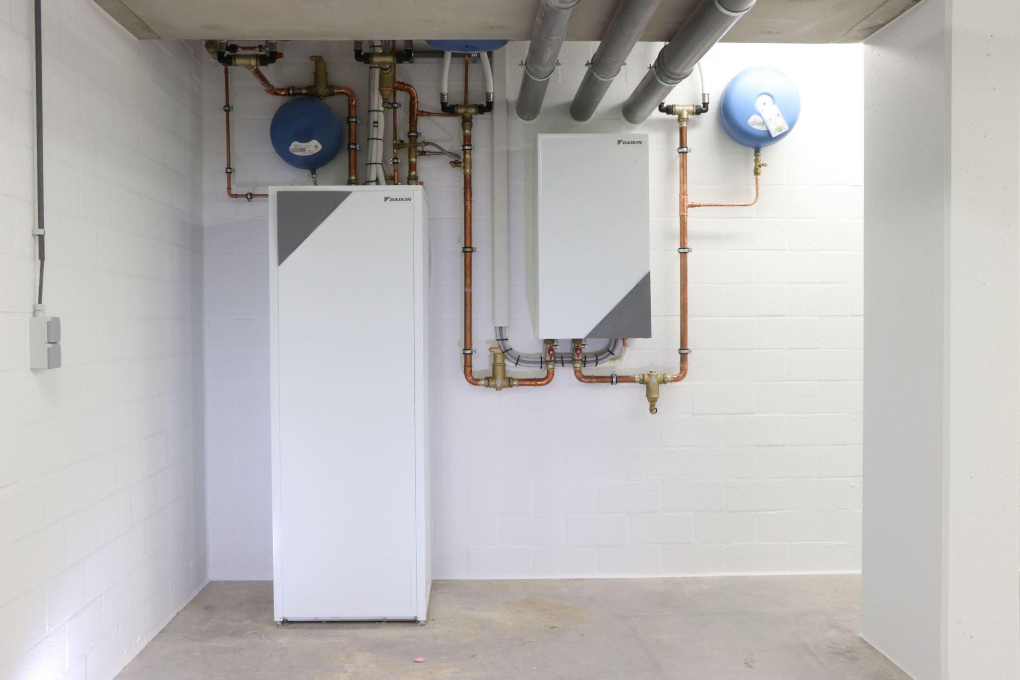 Warmtepomp installatie Altherma Daikin