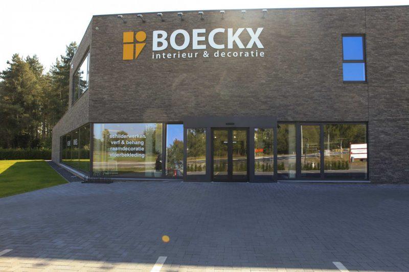 Airco ventilatie kantoren/winkel Boeckx Lille
