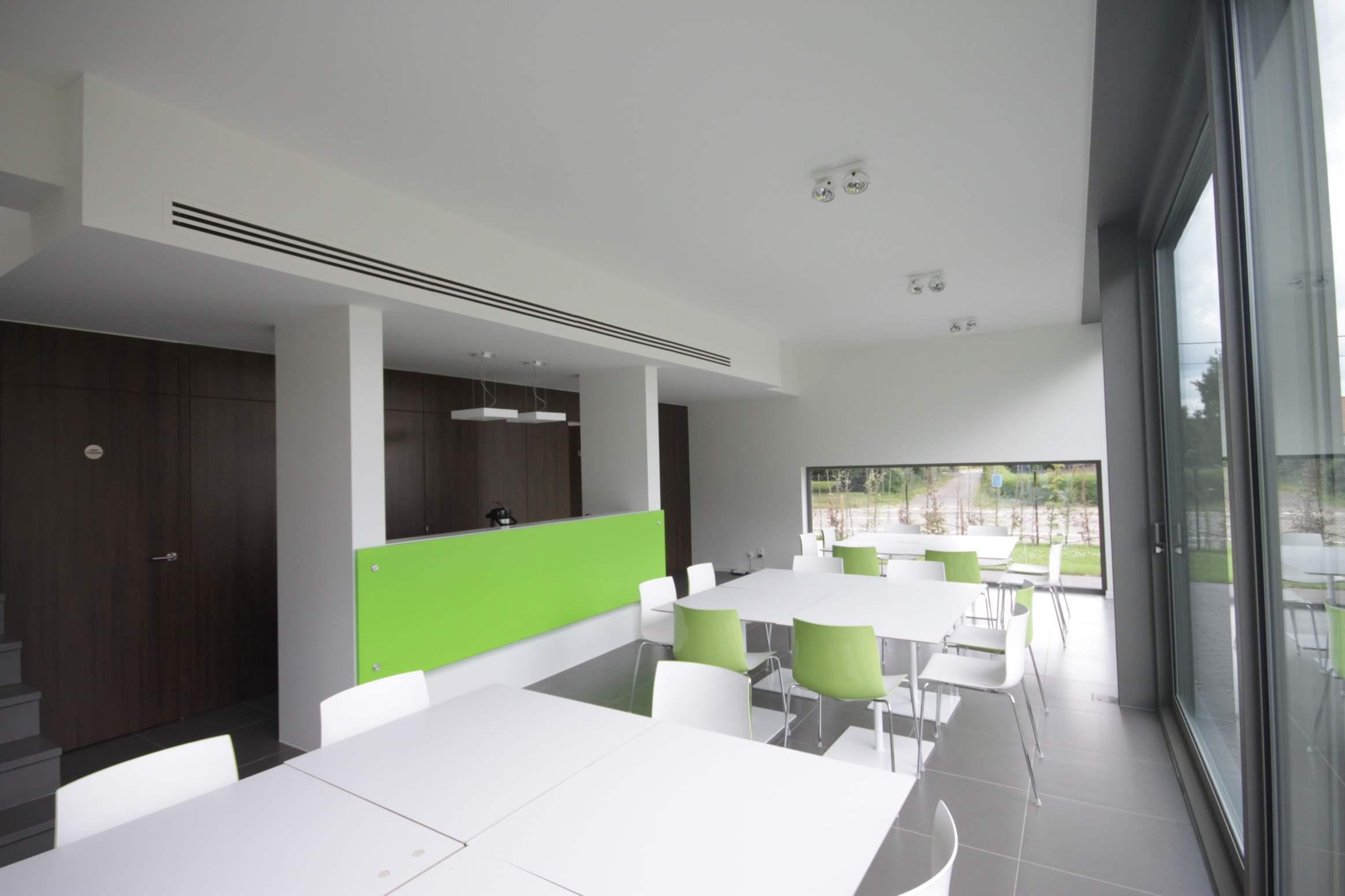 Airco ventilatie binnenafwerking Remibo Westmeerbeek