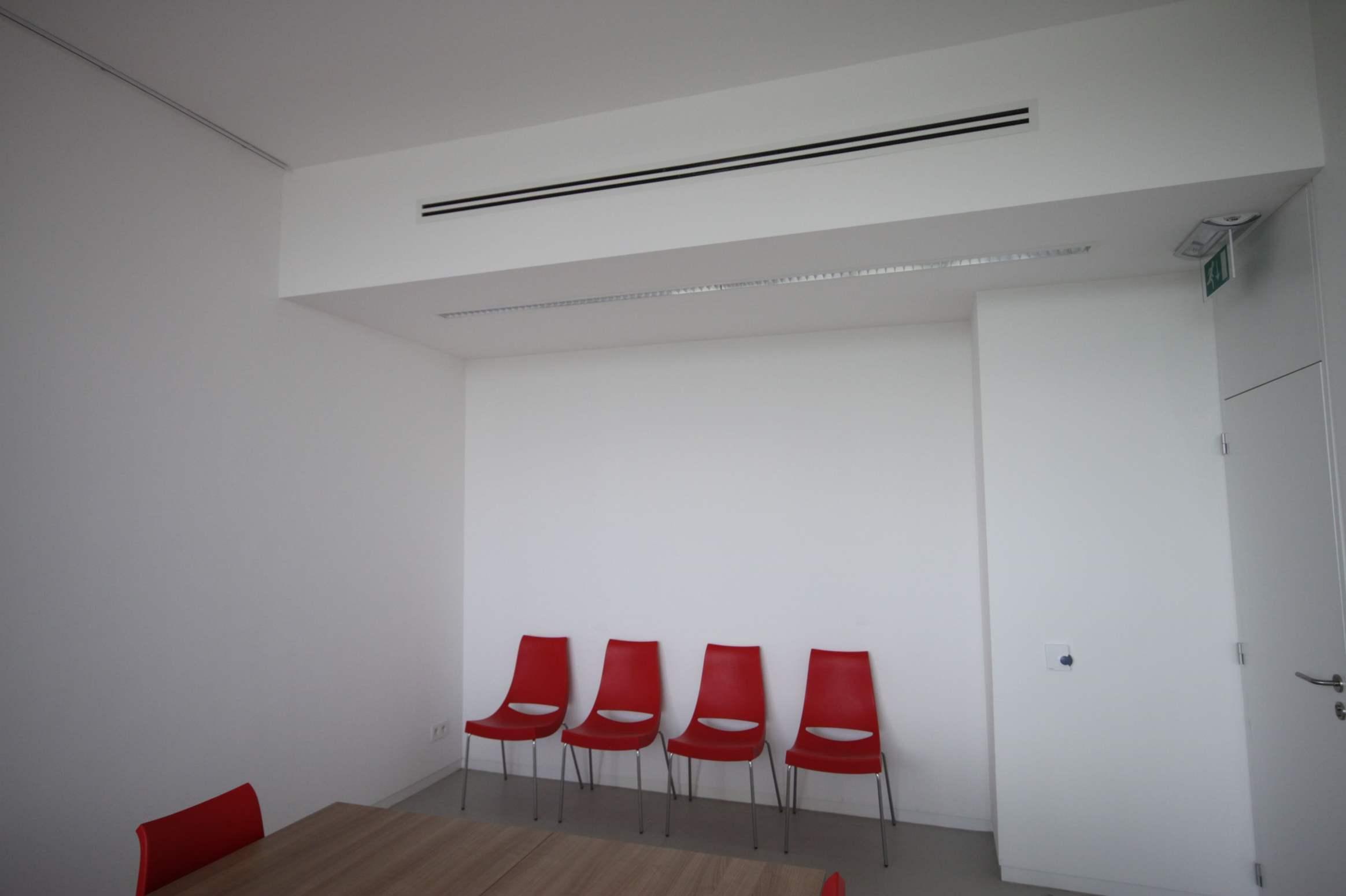 Airco ventilatie binnenafwerking Sluisgebouw Rijkevorsel