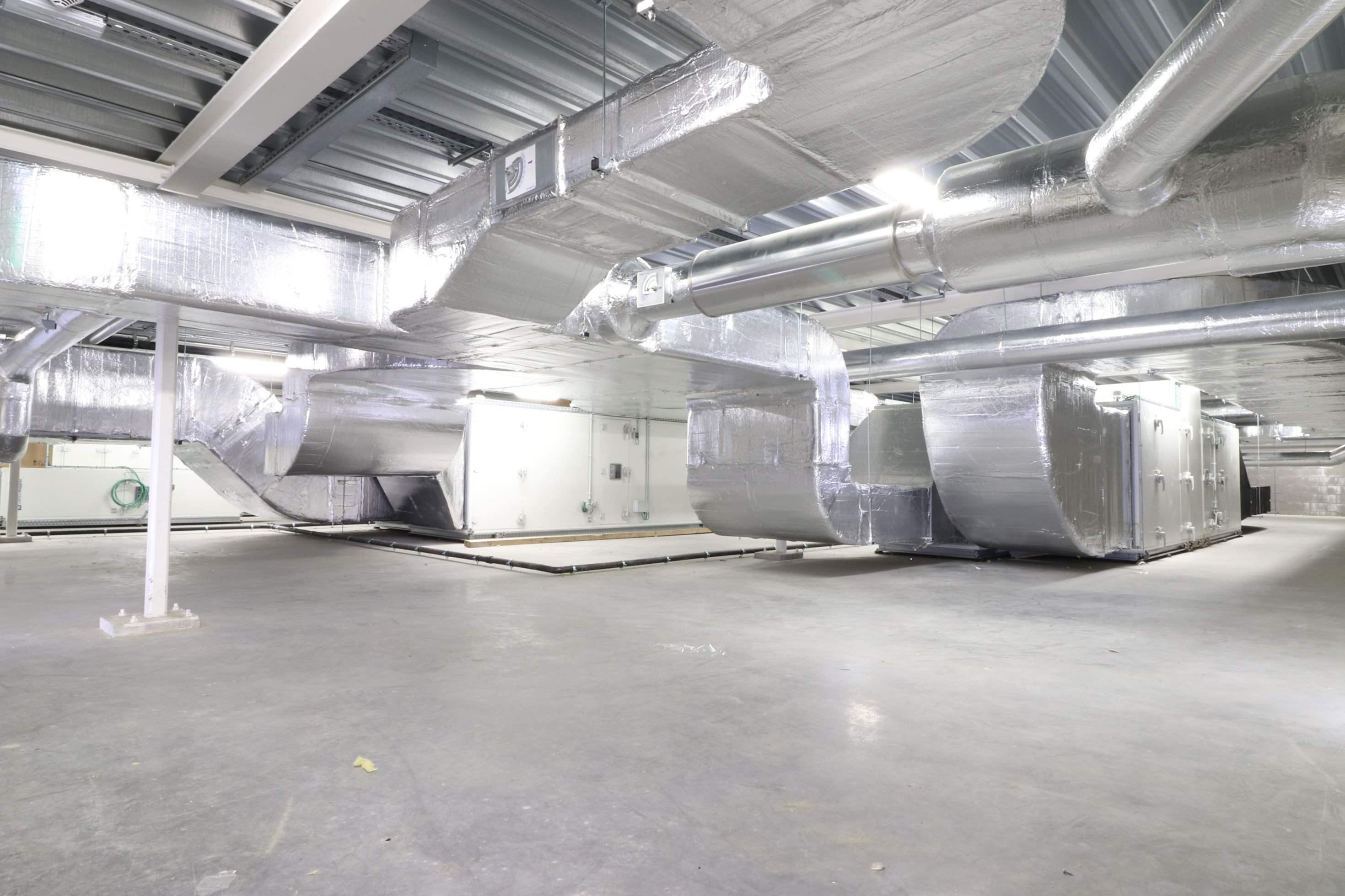 Ventilatie gebouwbeheersysteem OC Kasterlee Kasterlee